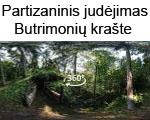 Lietuvos partizaninio judėjimo atspindžiai Butrimonių krašte